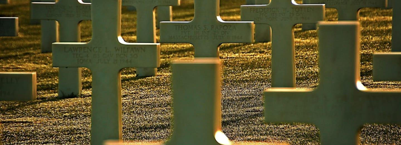 Mrtví, kteří padli během vylodění v Normandii