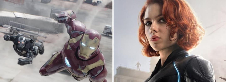 Iron Man Black Widow