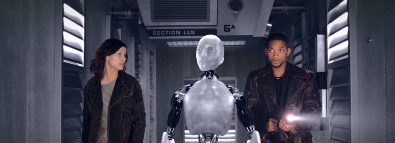Záběry z filmu Já, robot
