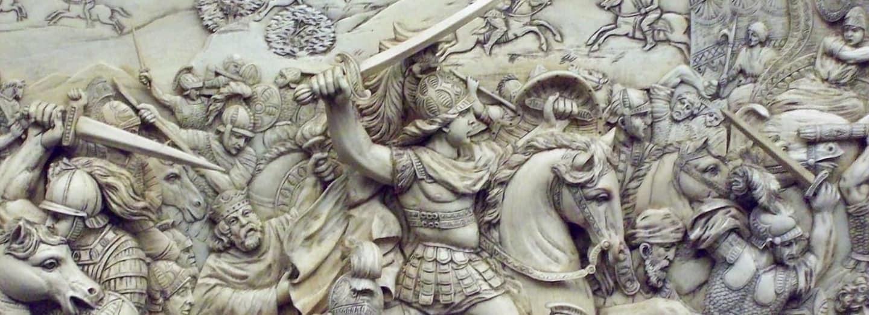 Bitva u Gaugamél dala Alexandrovi Persii k nohám
