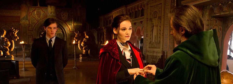 Záběry z filmu Rudá jako rubín