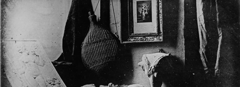Nejstarší dochovaná daguerrotypie z roku 1837