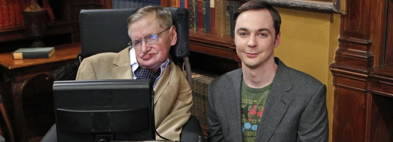 Stephen Hawking a Sheldon