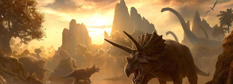 Dinosauři v řece