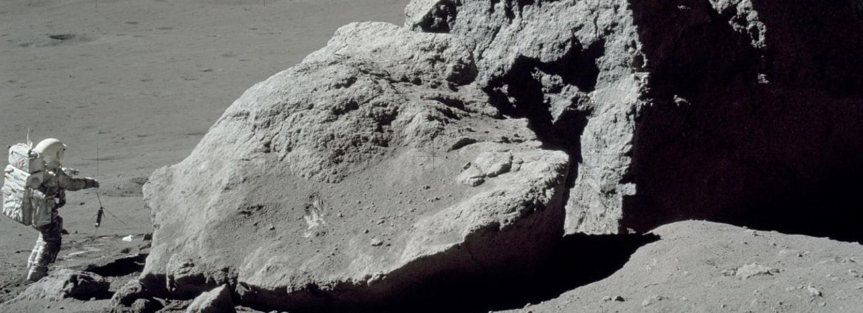 Málo známý obrázek z mise Apollo 17 na Měsíc