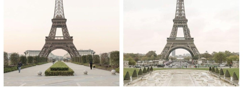 Skutečná VS čínská Paříž. Poznáte originál?