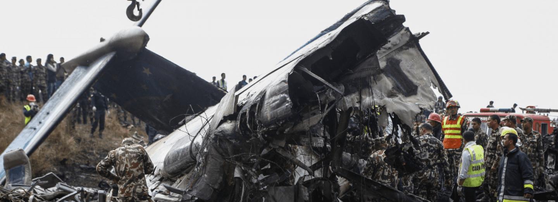 Nehoda letadla v Nepálu