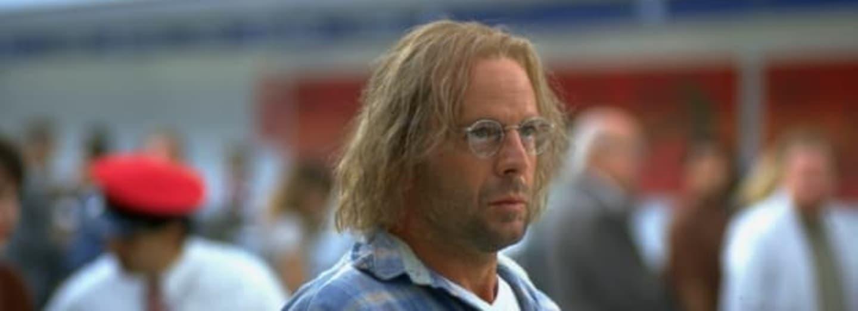 Bruce Willis v jednom ze svých mnoha převleků.
