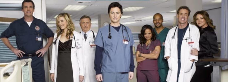 Hlavní hrdinové seriálu Scrubs: Doktůrci