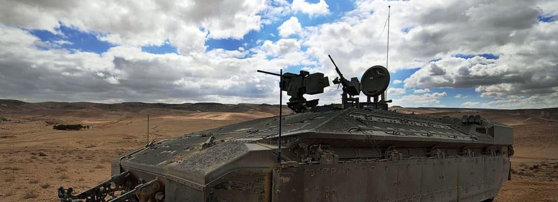 Namer - nejodolnější obrněný transportér světa - chvíle po bojovém nasazení