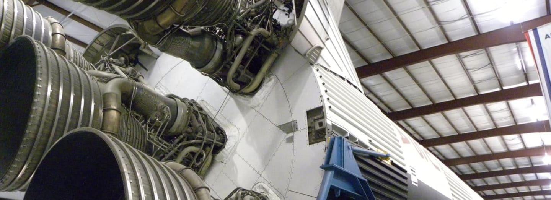 Raketa Saturn v americkém Houstonu