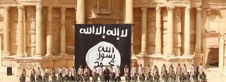 Palmyra poté, co ji ovládl Islámský stát