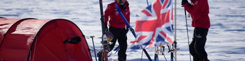 Na Jižní pól s princem Harrym