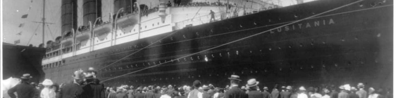 Tajemství parníku Lusitania