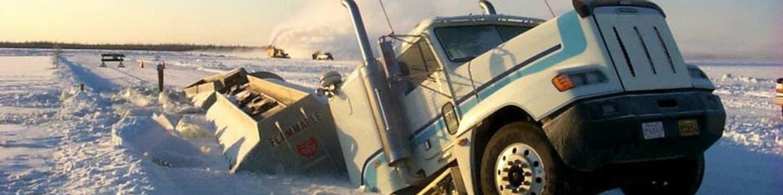 Trucky na ledě
