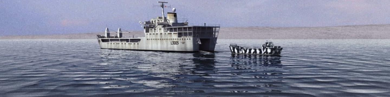 Peklo na lodi Galahad