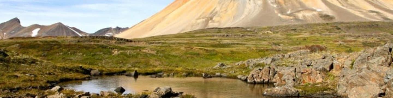 Mount Edziza: Život z ledu a popela