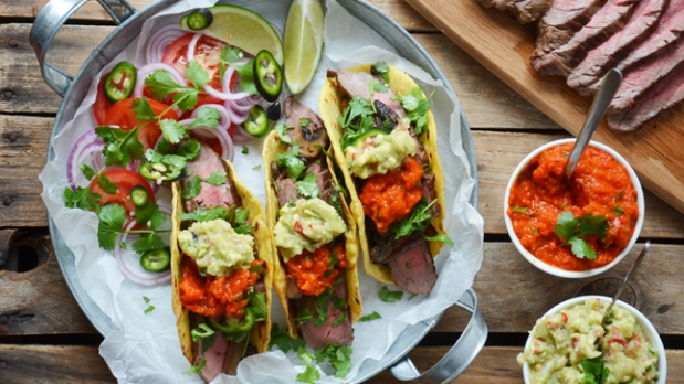 Hovězí tacos