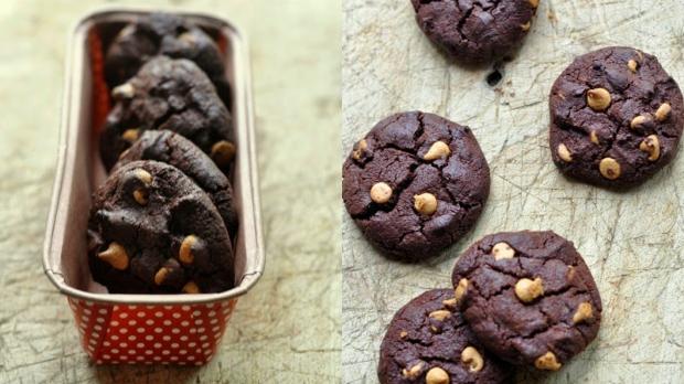 Super čokoládové cookies